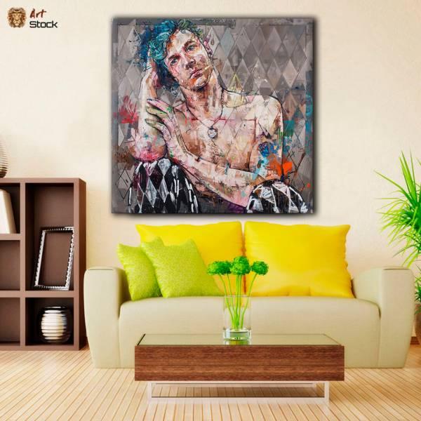Картина на холсте Треш парниша - ArtStock