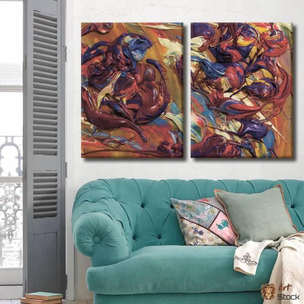 """Картина на холсте """"Объёмные краски"""""""