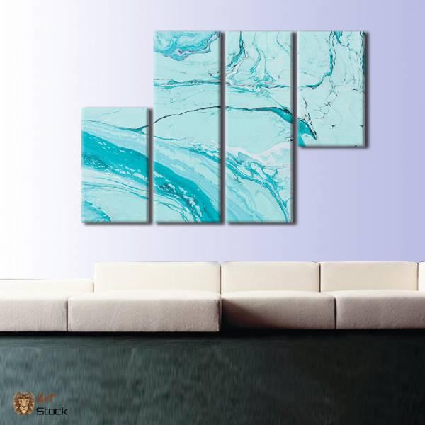 Голубая краска