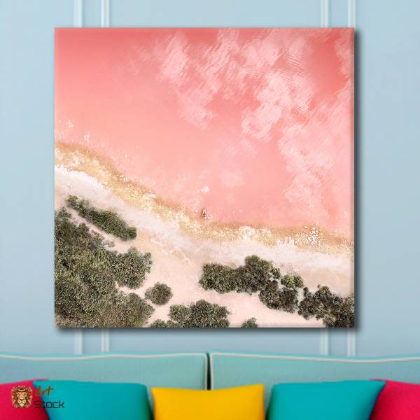 "Картина на холсте ""Розовое море"""