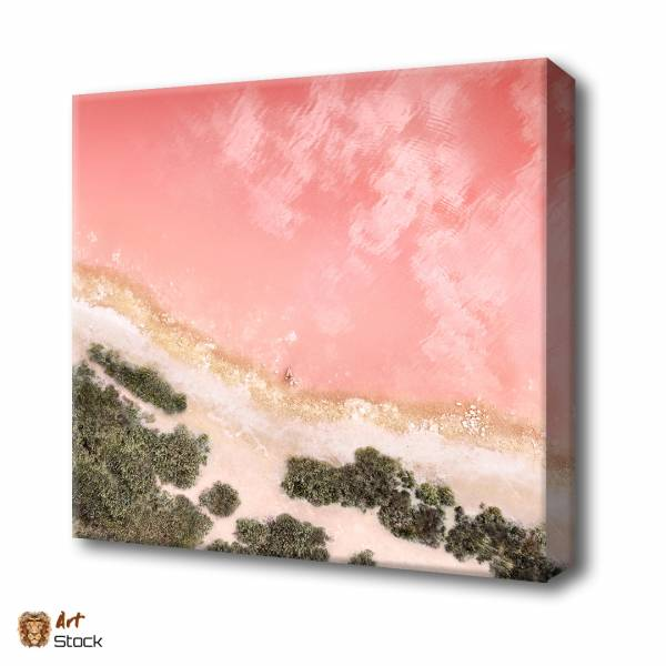 Розовое море