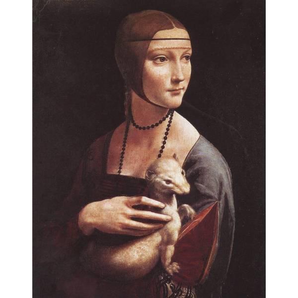 "Картина на холсте ""Леонардо да Винчи №4"""
