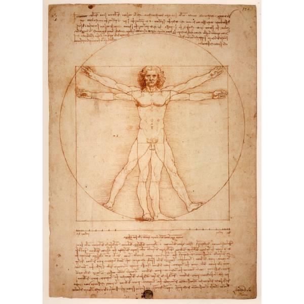 "Картина на холсте ""Леонардо да Винчи №7"""