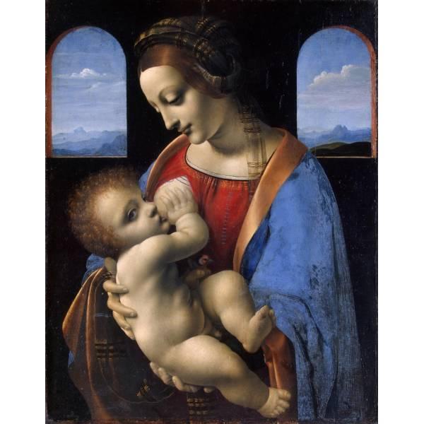 "Картина на холсте ""Леонардо да Винчи №8"""