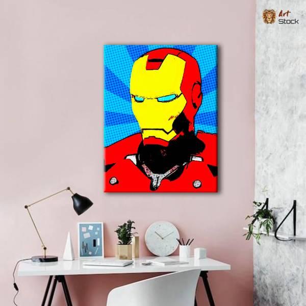 """Картина на холсте """"Iron Man"""""""