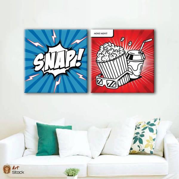 """Картина на холсте """"Snap"""""""