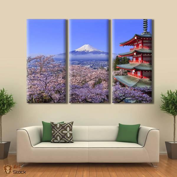"""Картина на холсте """"Япония"""""""