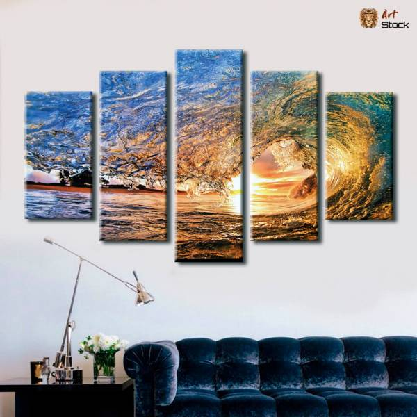 Картина на холсте Волны - ArtStock