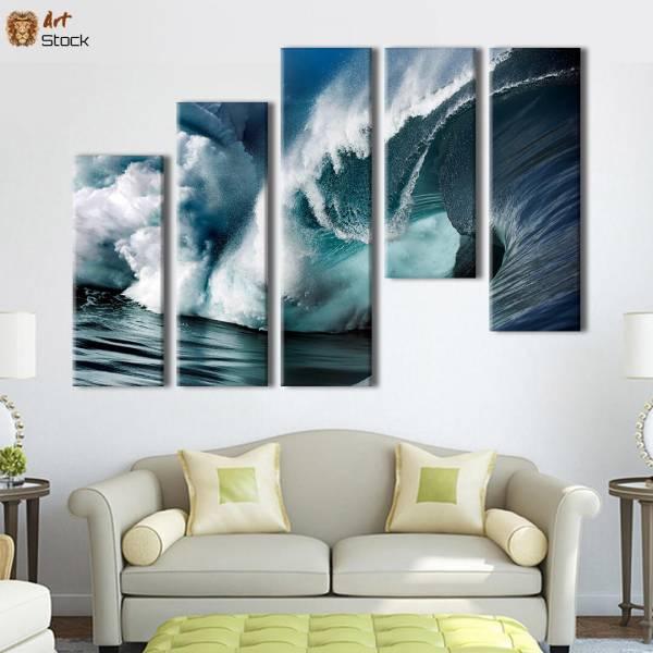 """Картина на холсте """"Шикарные волны"""""""