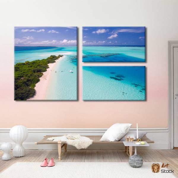 """Картина на холсте """"Пляж"""""""