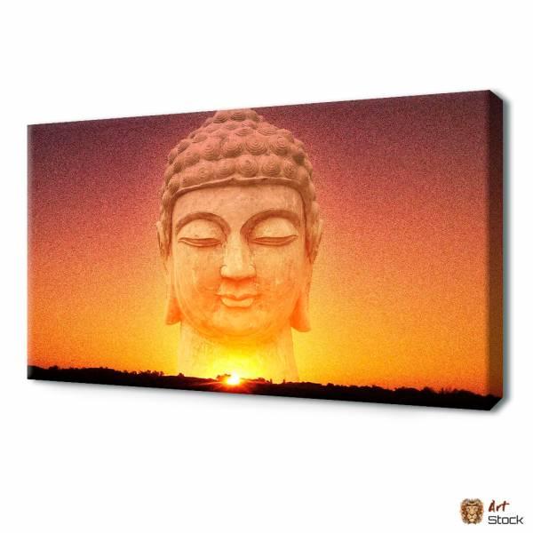 Будда на закате