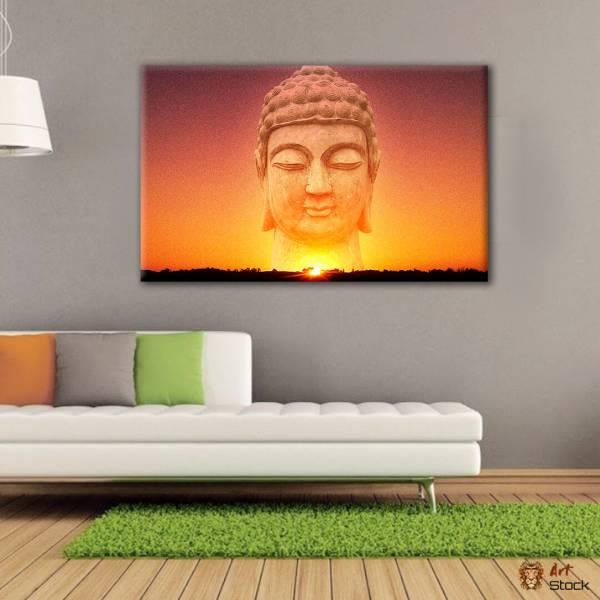 Картина на холсте Будда на закате - ArtStock