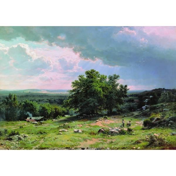 "Картина на холсте ""Шишкин №15"""