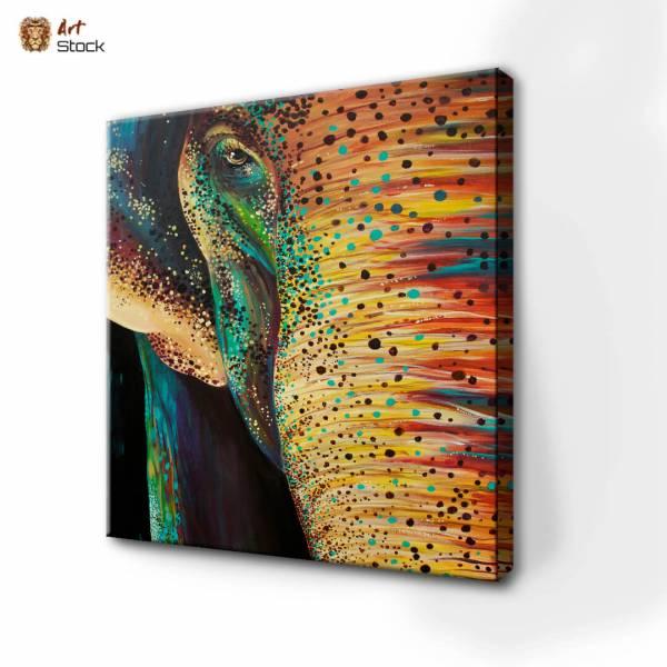 Слон яркий