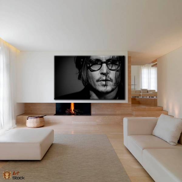 Картина на холсте Джонни Депп - ArtStock